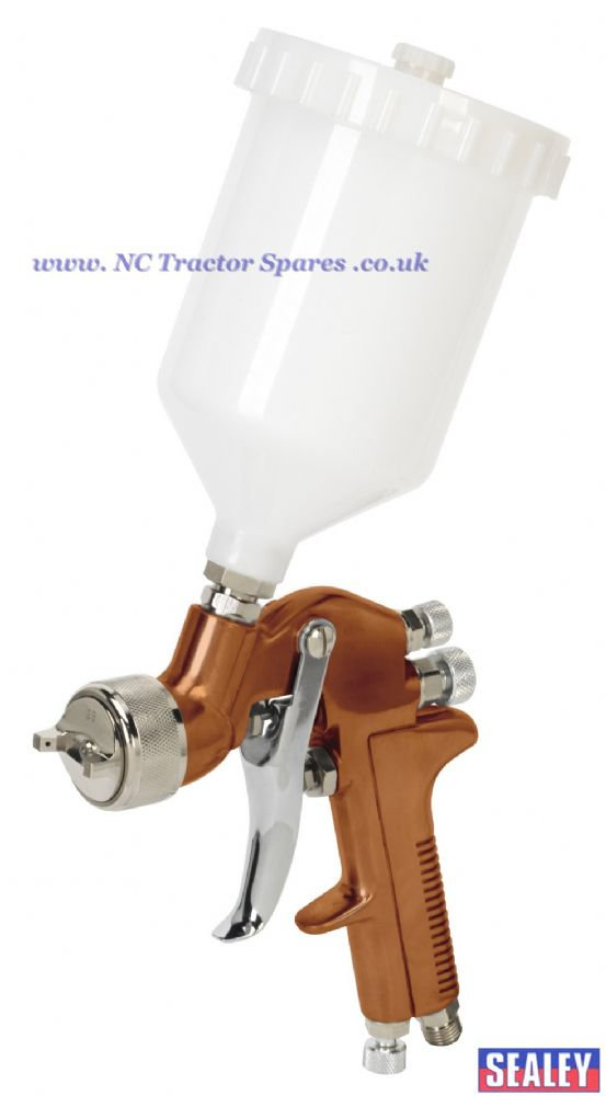 Spray Gun Gravity Feed Siegen Brand 1.3mm Set-Up